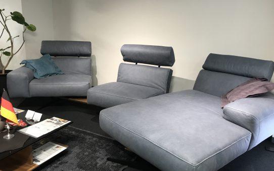 フレキシブルな可動が人気のソファ